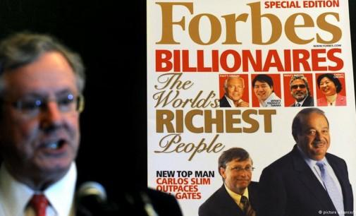 Pasaulio milijardieriai – rusų mažėja