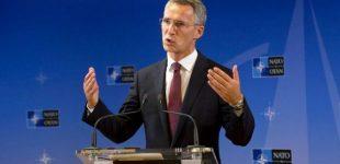 Jensas Stoltenbergas: NATO kariai nedalyvaus karo veiksmuose Sirijos teritorijoje