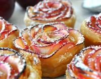 Rožytės – obuolių desertas