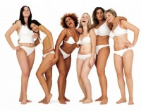 Idealų kova: lieknos ar merginos su forma?