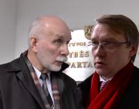 Signatarai Rolandas Paulauskas ir Zigmas Vaišvila dėl VSD šmeižto