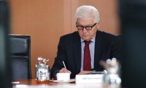 N-TV: Steinmeieris paaiškino Pabaltijui dialogo su Rusija svarbą