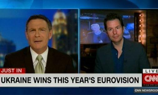 """CNN: Rusijoje dabartinė Ukrainos pergalė """"Eurovizijoje"""" bus palaikyta antausiu"""