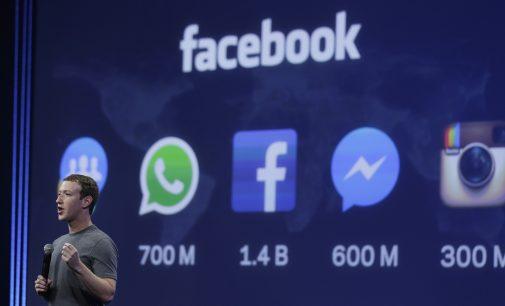 Markas Cukerbergas pažadėjo ištirti Facebook'ui mestus kaltinimus cenzūra