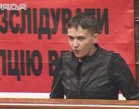 """Savčenko """"90-ųjų banditus"""" pateikė pavyzdžiu Rados deputatams"""