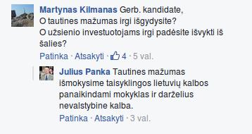 Kandidatas Julius Panka