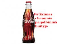 """Apie """"Coca-Cola"""" gėrimą"""