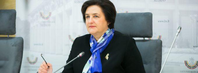 """Seimo Pirmininkė L. Graužinienė perspėjo: """"Gali kilti politinis chaosas"""""""