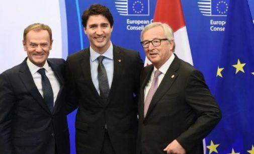 ES ir Kanada pasirašė CETA susitarimą dėl laisvos prekybos
