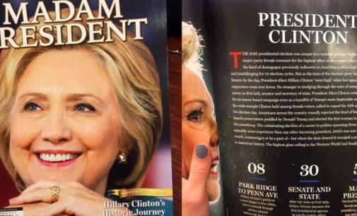 """NYP: """"Madam President"""" – Newsweek pastatė ne už tą kandidatą"""