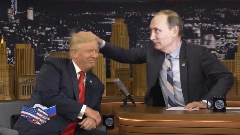 Trampas ir Putinas