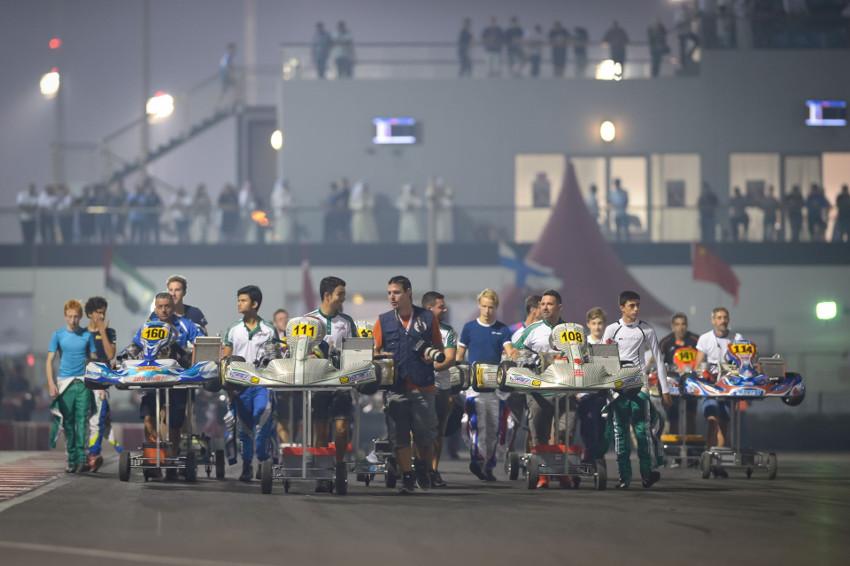 Karting, , , , , , CIK-FIA World Championship, Bahrain, Bahrain, International Race, © KSP Reportages