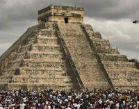 Majų piramidės viduje, Čičen Icoje atrasta kita, mažesnė piramidė