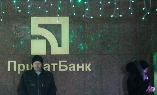 "Kijevo ""informacinė ataka"" užsibaigė Kolomoiskio banko paėmimu"