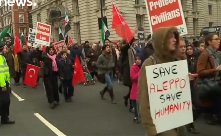 Demonstracija Londone