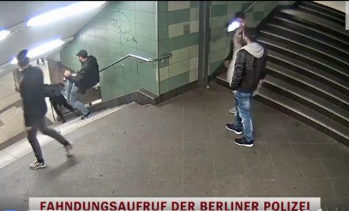 Vokietijoje sulaikytas bulgaras nustūmęs merginą nuo laiptų metro stotyje