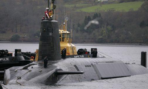 Times: britų valdžia nuslėpė savo branduolinių bandymų žlugimą