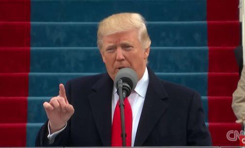 """Donaldas Trampas: """"Nuo šiol Amerika bus pirmoje vietoje!"""""""