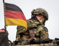 Iš Oberviechtache – atvykstančių į Lietuvą Vokietijos karių išlydėtuvių ceremonija