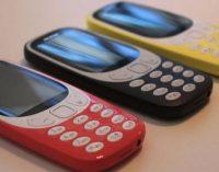 Populiarus telefonas Nokia 3310 sugrįžta atnaujintas
