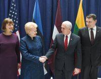 JAV patvirtina savo įsipareigojimą Baltijos šalių saugumui