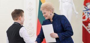Lietuva didžiuojasi savo jaunaisiais talentais