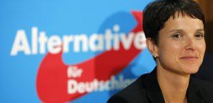 """""""Alternatyva Vokietijai"""" partijos lyderė susitiko su Žirinovskiu"""