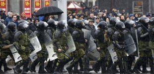 Minskas nori parodyti protestuojantiems, jog Maidano čia nebus