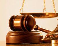 Už siekį pažeminti teisėją – šešiasdešimt parų arešto