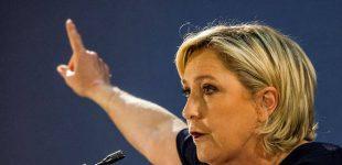 Le Point: Marine Le Pen turi visus šansus Maskvoje gauti dar pinigų
