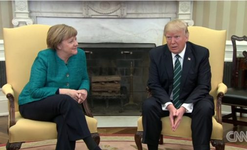 Donaldas Trampas: Vokietija gerokai skolinga NATO ir JAV