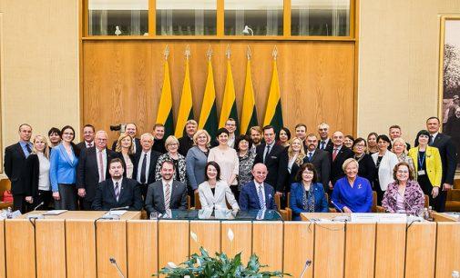 Prof. V. Sinkevičius: Tauta nustatė dvigubos pilietybės įgijimo taisyklę -Tauta ir tegali ją pakeisti, o ne Seimas ar vyriausybė