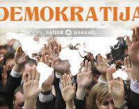 Mes matome globalų demokratinių vertybių nuosmukį visame pasaulyje