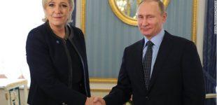 CNN: Trampas palaiko Le Pen, nežiūrint į jos proputinišką požiūrį