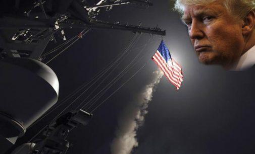 Washington Post: Trampas paaiškino, jog smūgio Sirijai teisinis pagrindimas nesiskyrė nuo Obamos motyvo smogti Libijai