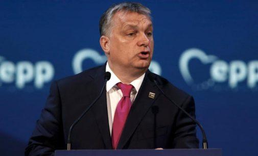 """Viktoras Orbanas: """"Priešas nori atimti mūsų šalį"""""""