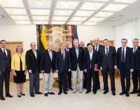 Seimo Pirmininkas teigia, jog Lietuva yra suinteresuota JAV lyderyste