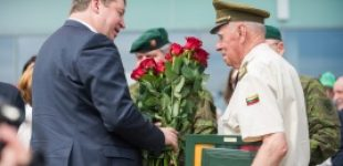 Panevėžyje – Partizanų pagerbimo, kariuomenės ir visuomenės vienybės dienos šventė