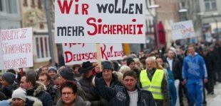 Vokietija: priešrinkiminė kova kirilicos rašmenimis