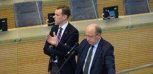 Andrius Kubilius pranešė tris dienas dirbsiąs vardan Ukrainos ir Rusijos europietiškos ateities