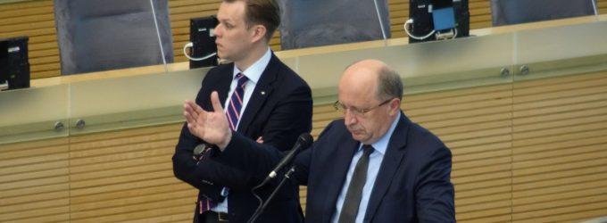 """Andrius Kubilius: """"…Lietuvoje susiduriame su pavojingas socialines pasekmes sukeliančiu """"Karbauskio reiškiniu"""""""