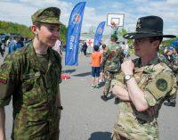 Kariuomenės ir visuomenės šventė šiemet vyko Panevėžyje, kartu su NATO sąjungininkais