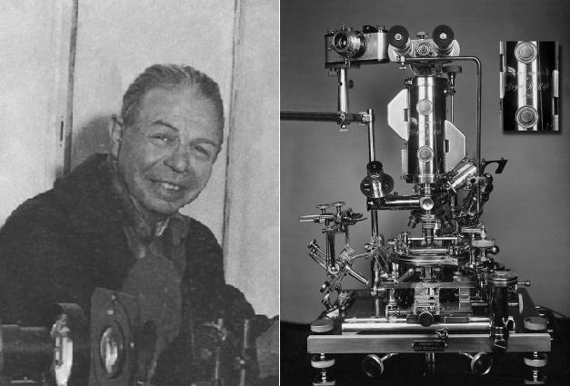 Royal R. Rife ir jo mikroskopas