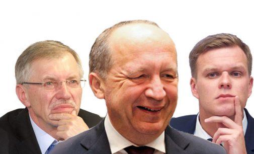 G. Landsbergis, A. Kubilius ir G. Kirkilas pateikė Seimui 10 prioritetinių valstybės tvarkymo darbų deklaraciją