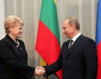 Su kaimynais gyvensime draugiškai? – Nuoširdus Lietuvos prezidentės sveikinimas Vladimirui Putinui 27-ųjų Rusijos dienos metinių proga