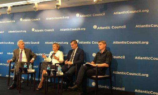 """Rasa Juknevičienė: """"Kremliaus vykdoma dezinformacijos kampanija pasmerkta žlugti"""""""