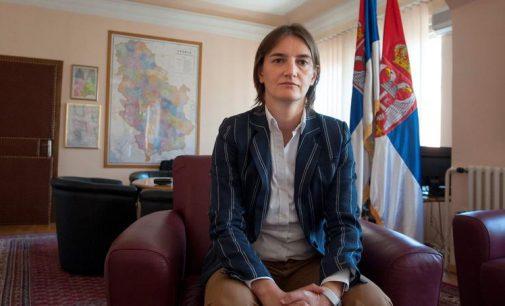 Pirmoji Serbijos premjerė – proeuropietiška homoseksualistė