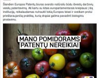 Bronis Ropė: tokią praktiką, kuria šiandien užsiima Europos patentų biuras galima drąsiai pavadinti biologiniu piratavimu