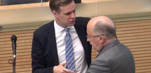 """Gabrielius Landsbergis: """"Šiandien galime pasakyti, kad Vyriausybė ir premjeras nepasirengę dirbti"""""""