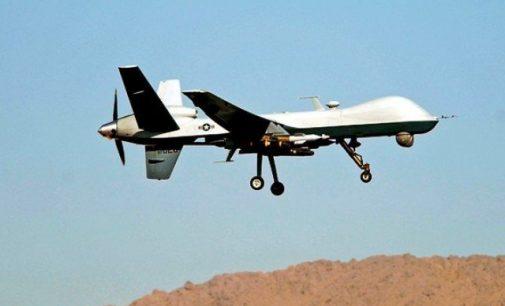 JAV koalicija Sirijoje numušė Sirijos karinį droną